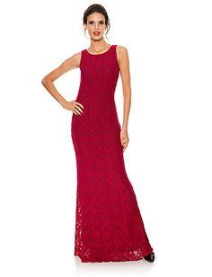 Ashley Brooke Event - Trägerkleid rot im Heine Online-Shop kaufen