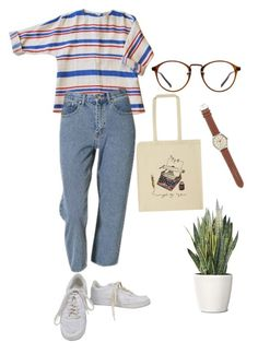 """""""Untitled #184"""" by tater-titties on Polyvore featuring NIKE, Ulster Weavers, J.Crew and PLANT"""
