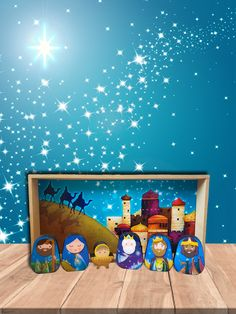 Nativity, Modern, Painting, Wizard Of Oz, Wonderland, Nativity Scenes, Decorating Rooms, Abstract, Crates