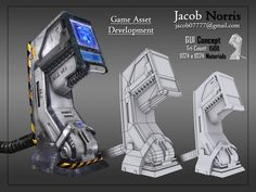 G.U.I. Console by *jacob07777 on deviantART