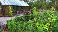 Potager-trädgården på Strömsö