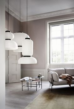 Formakami pendant lights from &Tradition