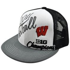 da674d0dbf0 Top of the World Wisconsin Badgers White-Black 2011 Big Ten Football  Champions Locker Room