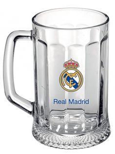 Kufel przeznaczony specjalnie dla fanów Galacticos. Wykonany z bezbarwnego szkła półlitrowy kufel opatrzono godłem słynnego Realu Madryt. Kubki dostarczane są w opakowaniu w barwach klubowych.