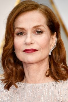 Isabelle Huppert at the 2017 Oscars