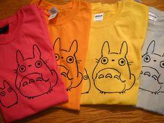 Totoro T-Shirt.  via Etsy.