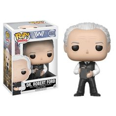 (affiliate link)  Westworld Dr. Robert Ford Pop! Vinyl Figure