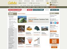 cabelas.com category page