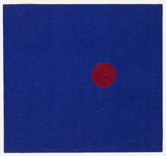 Ellsworth Kelly. Red and Blue from the series Line Form Color. 1951