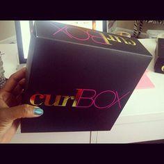 I got MY curlBOX! :D
