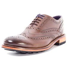 Ted Baker Guri 8 Mens Leather Brown Brogues New Shoes All Sizes
