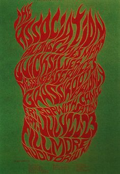 7/22-23/ 1966 .... Fillmore Auditorium ....  The Association .... Quicksilver Messenger Service .  .... Grass Roots .... Sopwith Camel ..... artist .....  WES WILSON
