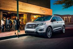 Phil Fitts Ford >> undefined 2019 Ford Edge Titanium shown in Baltic Sea Green   Ford Edge   Pinterest   Ford edge ...