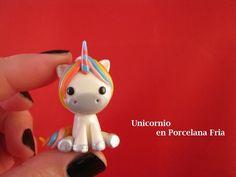 Unicornio en Porcelana Fria / Cold Porcelain
