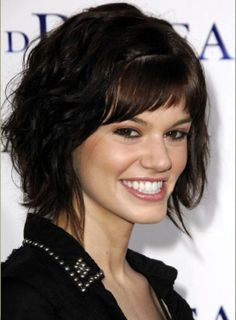 Short wavy hairstyles give you nice, trendy and perfect look. You will be able to create new look by having this short wavy haircuts style. Short Wavy Hairstyles For Women, Short Hairstyles For Thick Hair, Haircuts For Curly Hair, Haircut For Thick Hair, Haircuts With Bangs, Short Hair Cuts For Women, Cool Hairstyles, Short Haircuts, Newest Hairstyles