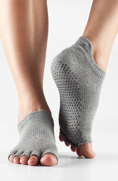 ToeSox Low Rise Half Toe Gripper Socks | Nordstrom #style #fashion #fitness #workout