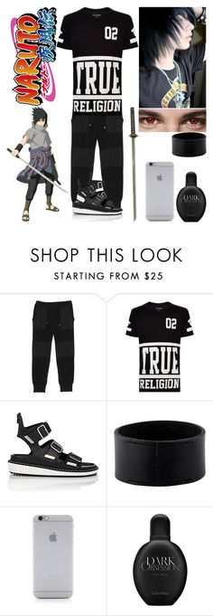 """Sasuke Uchiha"" by sonnet-xo ❤ liked on Polyvore featuring Snow Peak, True Religion, Givenchy, Hermès, Native Union, Calvin Klein, men's fashion, menswear, anime and fandom"
