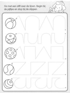 terrific worksheets to practice hand eye coord for handwriting. Pre Writing, Kids Writing, Writing Skills, Tracing Worksheets, Preschool Worksheets, Preschool Activities, Motor Activities, Educational Activities, Preschool Writing