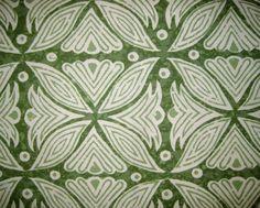-Martyn Lawrence Bullard Fabrics Kaba Kaba. Beautiful green fabric, love it!