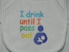 Embroidery bib baby gift breastfeeding support by StitchWench, Breastfeeding Support, Breastfeeding And Pumping, Breastfeeding Humour, Baby F, Baby Love, Gentle Parenting, Kids Logo, Baby Bibs, Baby Wearing