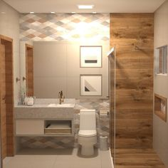 Bathroom Design Luxury, Modern Bathroom Decor, Bad Inspiration, Bathroom Inspiration, Small Bathroom Layout, Toilet Design, Apartment Design, Pin On, Studio
