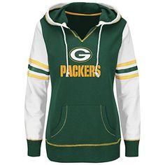 "Green Bay Packers Women's Majestic NFL ""Touchdown"" Pullover Hooded Sweatshirt Majestic http://www.amazon.com/dp/B00X5ZGGAA/ref=cm_sw_r_pi_dp_VYAbwb0MQ98VW"
