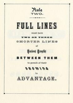 Browne & co. How to typeset a poster.