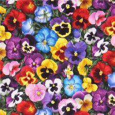 cuadros de flores pensamientos - Buscar con Google
