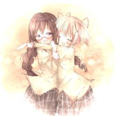yurimother:  Original:ぎゅーArtist:くま