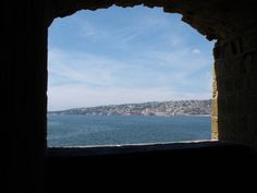 View from the front window to Castel dell'Ovo
