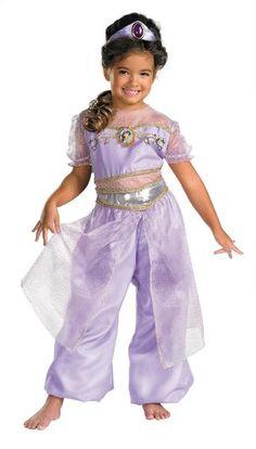 Kids Princess Jasmine Deluxe Costume - costumecity.com