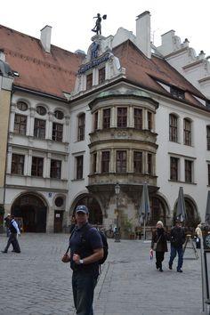 The world famous Hofbrauhaus in Munich.