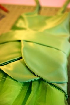 DIY Tinkerbell Fairy Costume | Pretty Prudent. I want to try and make this for Elizabeth for halloween.