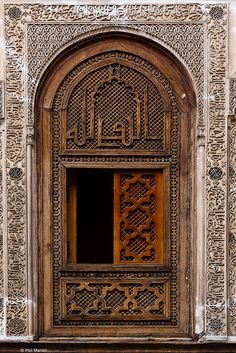 window, fes, morocco | islamic art + architecture