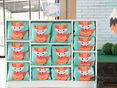 Jaime's Geometric Fox Themed Party – Giveaways Geometric Fox, Party Themes, Party Ideas, Party Giveaways, Leo, Naruto, Birthday, Character, Party Gifts