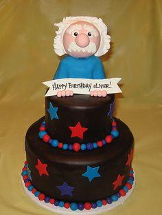 Albert Einstein birthday cake   Flickr - Photo Sharing!