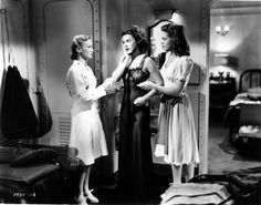 Veronica Lake, Paulette Goddard & Barbara Britton - SO PROUDLY WE HAIL