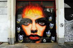 Street Art in Athens » Wild Drawing (WD)