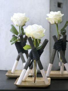 DIY Testtube vases