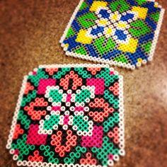 Perler Decorative Tile Coasters