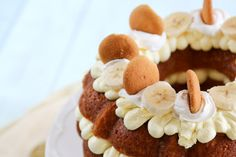 Banana+Pudding+Bundt+Cake+Recipe