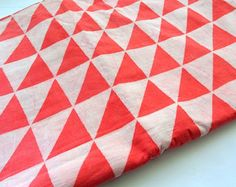 Mud cloth fabric natural dye mustard yellow color  triangle