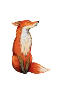 fox print fox printable fox nursery art nursery art by FoxAndTrove