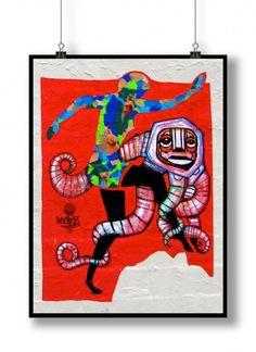 Plakat / Poster – Grafitti Paris 1 #poster, #Grafitti, #art