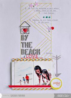 Sasha Farina for Studio Calico. Beach! Different and like it!