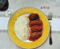 Σουτζουκάκια Σμιρνέικα, η αυθεντική συνταγή Ground Meat, Meat Recipes, Grains, Rice, Sweets, Debt, Food, Greek, Ground Beef