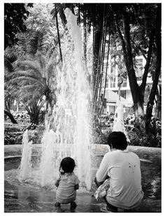 """sama ayah"" #Taman Bungkul Surabaya"