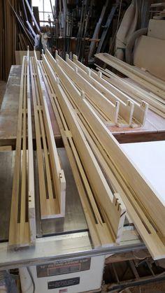 Custom covers for Baseboard heat - House - Baseboard Radiator, Baseboard Heater Covers, Wood Baseboard, Baseboards, Baseboard Ideas, Hydronic Baseboard Heaters, Baseboard Heating, Stairs And Staircase, Staircase Design