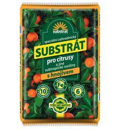 Substrát na pestovanie a presádzanie citrusov a iných subtropických rastlín.