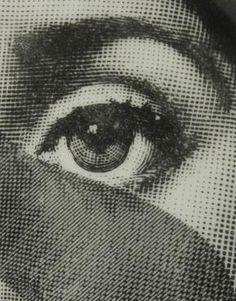Vintage Piero Fornasetti Tema & Variazoni Julia Plate :: Quintessentia